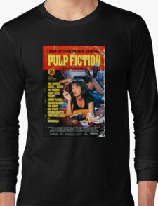 Pulp Fiction - Promotional Poster Long Sleeve T-Shirt