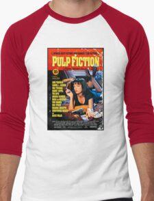 Pulp Fiction - Promotional Poster Men's Baseball ¾ T-Shirt