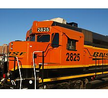 Big Orange Engine Photographic Print