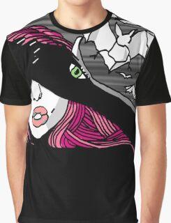 KatzxKarma Bats Her Eyes Graphic T-Shirt