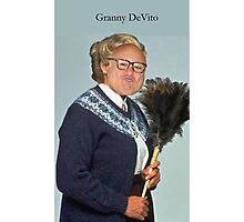 Granny DeVito Photographic Print