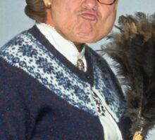Granny DeVito Sticker