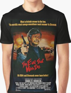 The Evil That Men Do - Charles Bronson - Movie Promo Poster Graphic T-Shirt