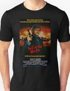 The Evil That Men Do - Charles Bronson - Movie Promo Poster T-Shirt