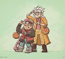 Back to the Future Trick or Treat by TaylorRoseArt