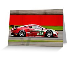 AF Corse No 51 Greeting Card