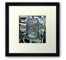 Old School Thirty-two Framed Print