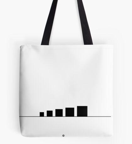 99 Steps of Progress - Minimalism Tote Bag