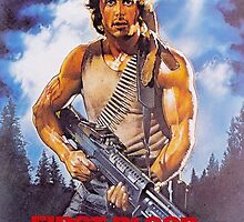 Rambo: First Blood - Promotional Poster by frc qt