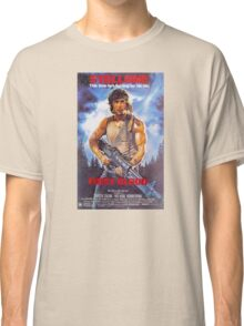 Rambo: First Blood - Promotional Poster Classic T-Shirt