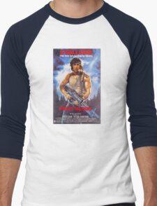 Rambo: First Blood - Promotional Poster Men's Baseball ¾ T-Shirt