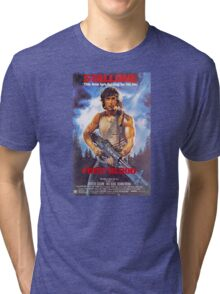Rambo: First Blood - Promotional Poster Tri-blend T-Shirt