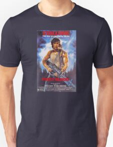 Rambo: First Blood - Promotional Poster T-Shirt