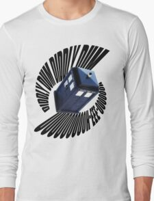 doctor who theme Long Sleeve T-Shirt