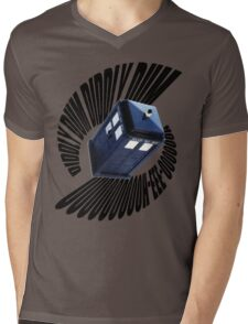 doctor who theme Mens V-Neck T-Shirt