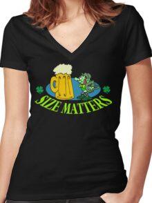 Irish Drinking Women's Fitted V-Neck T-Shirt