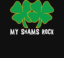 Naughty Shamrocks Women's Womens Fitted T-Shirt