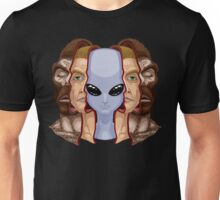 Three Faces Unisex T-Shirt