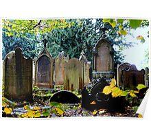 Haworth Graveyard - United Kingdom  Poster