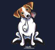 Jack Russell Lets Play Kids Tee