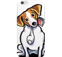 Jack Russell Lets Play iPhone Case/Skin