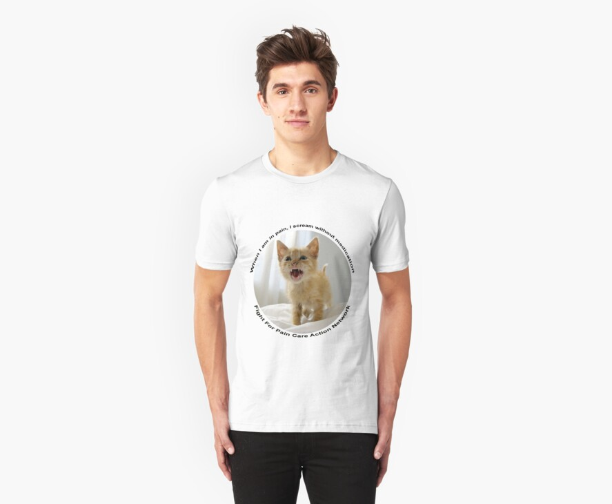 Kitten protest tee 1 by paincare