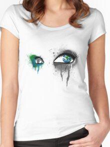Deep Gaze Women's Fitted Scoop T-Shirt