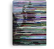 Glitch Two Canvas Print