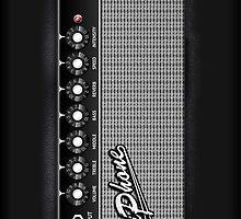 Fender Amplifier iPhone Case by Alisdair Binning