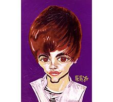 Bieber Feber Photographic Print