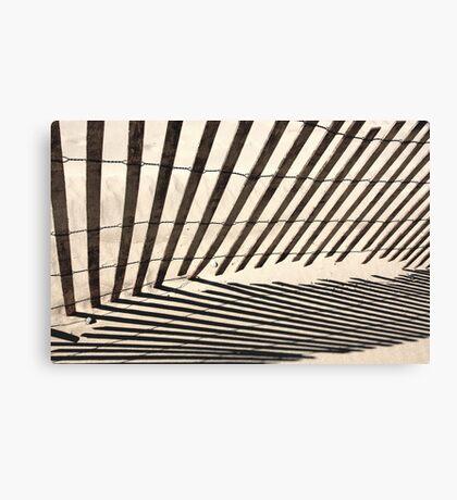 Symmetry Of Shadows Canvas Print
