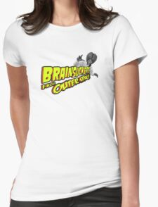 Brainsuckers from Outer Space Womens Fitted T-Shirt