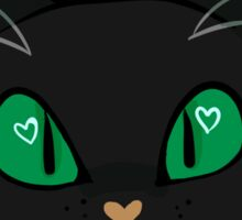 Cat Print Sticker