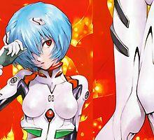 Neon Genesis Evangelion - Rei Ayanami - Daki by frc qt