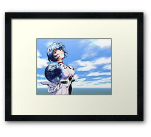 Neon Genesis Evangelion - Rei Ayanami Framed Print