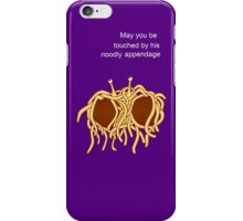 His noodly appendage iPhone Case/Skin
