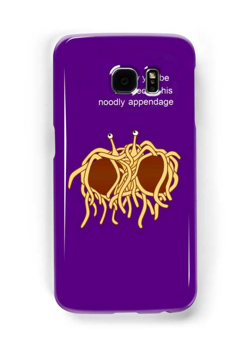 His noodly appendage by CathySW