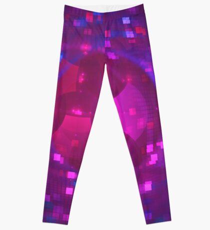 Disco Ball   Future Art Fashion Leggings