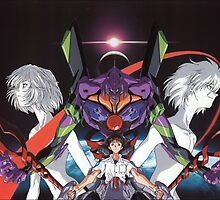 Neon Genesis Evangelion - Spread by frictionqt