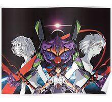 Neon Genesis Evangelion - Spread Poster