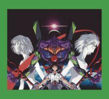 Neon Genesis Evangelion - Spread Kids Tee