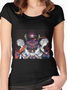 Neon Genesis Evangelion - Spread Women's Fitted Scoop T-Shirt