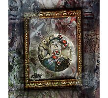 Nightmare in a fortune telling machine Photographic Print