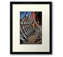 The Exes Framed Print
