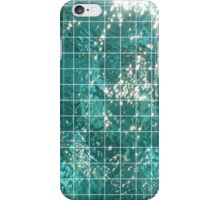Water Grid iPhone Case/Skin