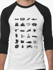 50 Years of James Bond Men's Baseball ¾ T-Shirt