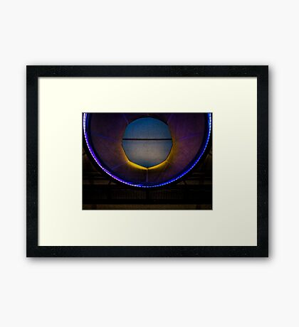 Entering the Wormhole Framed Print