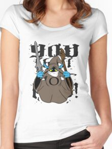 Orko the Grey Women's Fitted Scoop T-Shirt