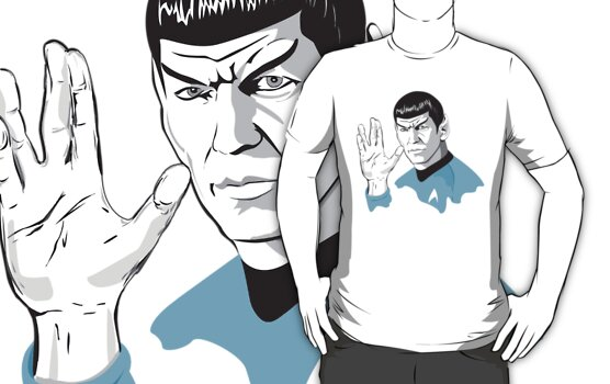 Star Trek Spock  by Creative Spectator