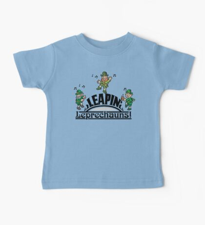 Leaping Leprechauns Baby Tee